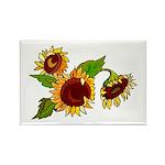 Sunflower Garden Rectangle Magnet