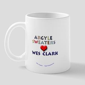 Argyles Sweaters 4 Clark Mug