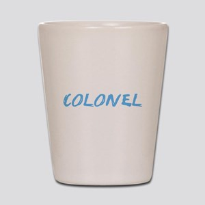 Colonel Profession Design Shot Glass
