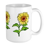 Sunflowers Large Mug