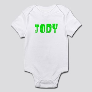 Jody Faded (Green) Infant Bodysuit