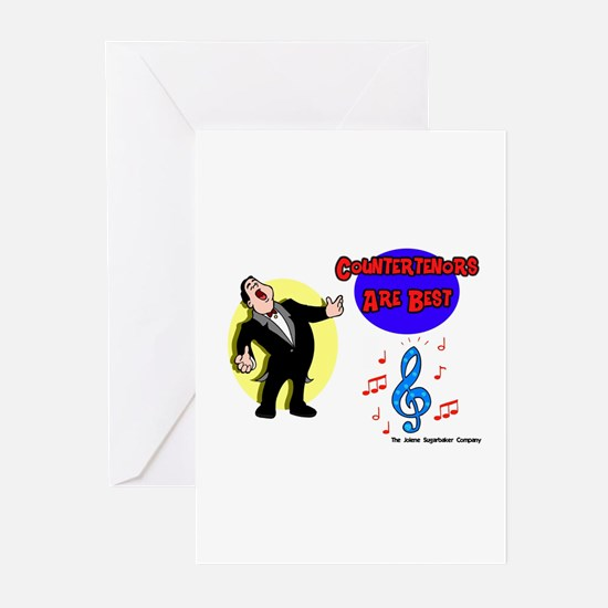 Countertenors are Best Greeting Cards (Package of