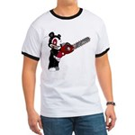 Teddy Bear with chainsaw Ringer T