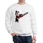 Teddy Bear with chainsaw Sweatshirt