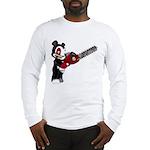 Teddy Bear with chainsaw Long Sleeve T-Shirt