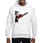 Teddy Bear with chainsaw Hooded Sweatshirt
