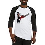 Teddy Bear with chainsaw Baseball Jersey