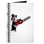 Teddy Bear with chainsaw Journal