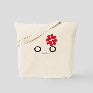 O_O Angry Tote Bag