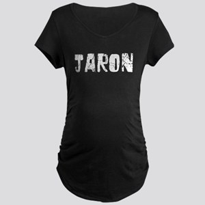 Jaron Faded (Silver) Maternity Dark T-Shirt