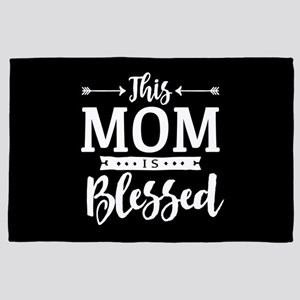 Blessed Mom 4' x 6' Rug