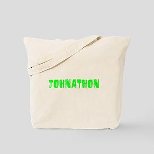Johnathon Faded (Green) Tote Bag