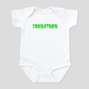 Johnathon Faded (Green) Infant Bodysuit