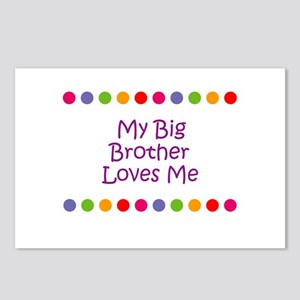 My Big Brother Loves Me Postcards (Package of 8)
