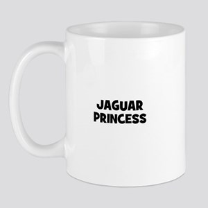 Jaguar princess Mug