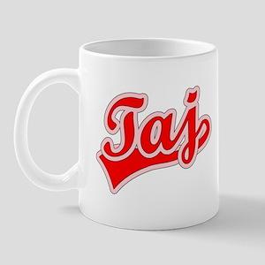 Retro Taj (Red) Mug