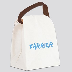 Farrier Profession Design Canvas Lunch Bag