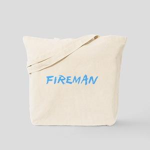 Fireman Profession Design Tote Bag