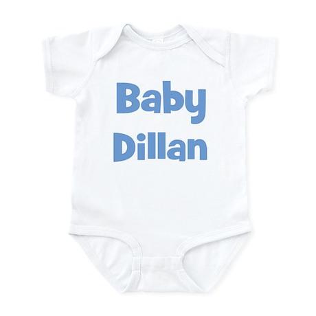 Baby Dillan (blue) Infant Bodysuit