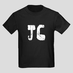 Jc Faded (Silver) Kids Dark T-Shirt