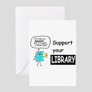 Librarians Choice Greeting Card