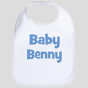 Baby Benny (blue) Bib