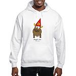 stupid cow Hooded Sweatshirt