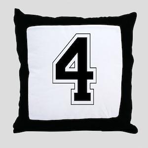 4 Throw Pillow