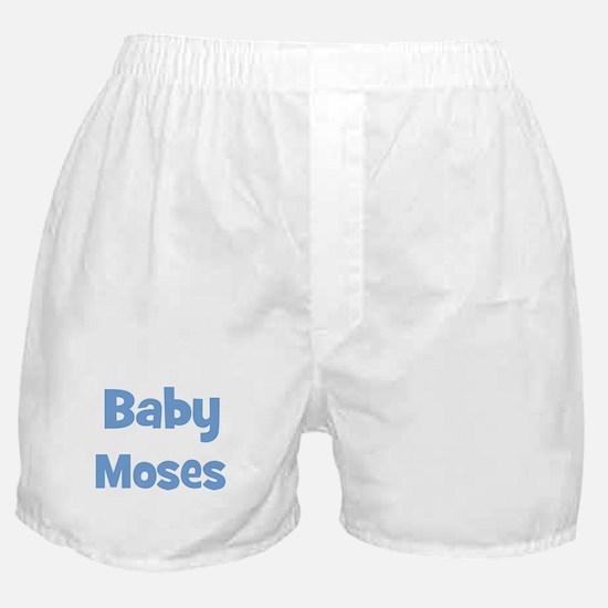 Baby Moses (blue) Boxer Shorts
