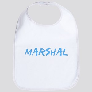 Marshal Profession Design Baby Bib