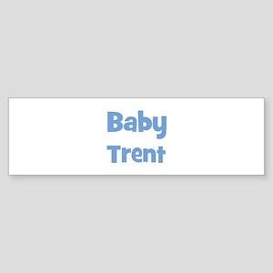 Baby Trent (blue) Bumper Sticker