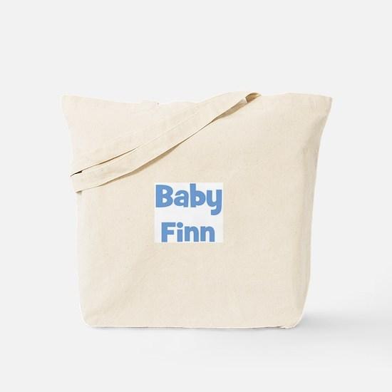 Baby Finn (blue) Tote Bag