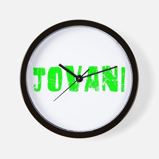 Jovani Faded (Green) Wall Clock