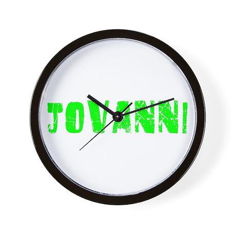 Jovanni Faded (Green) Wall Clock
