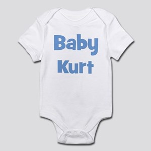 Baby Kurt (blue) Infant Bodysuit