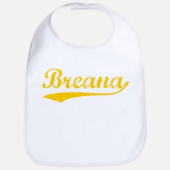 Vintage Breana (Orange) Bib
