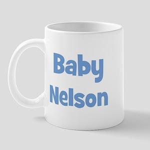 Baby Nelson (blue) Mug