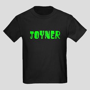 Joyner Faded (Green) Kids Dark T-Shirt