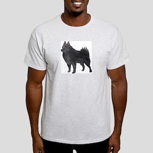 Schipperke Ash Grey T-Shirt