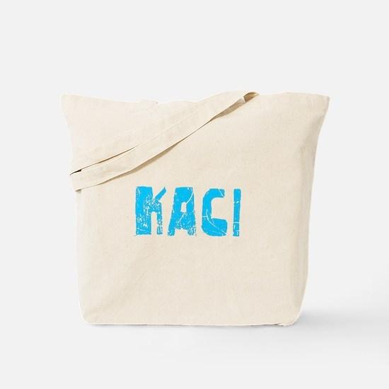 Kaci Faded (Blue) Tote Bag