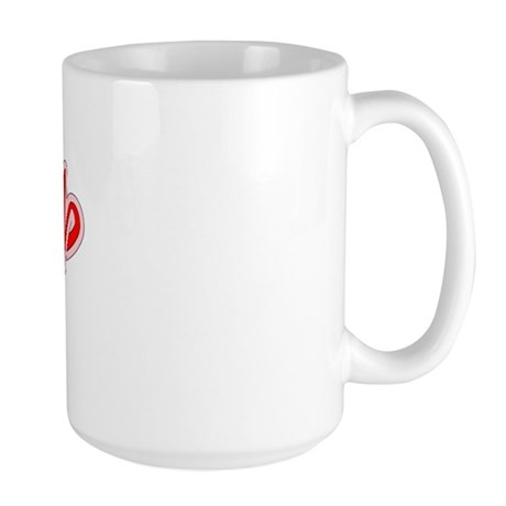 Retro Tariq (Red) Large Mug