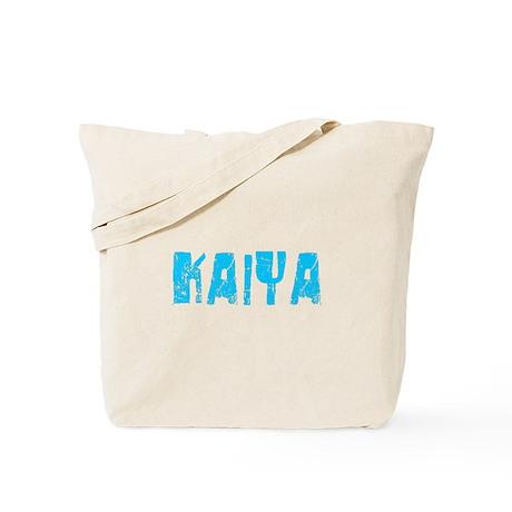 Kaiya Faded (Blue) Tote Bag