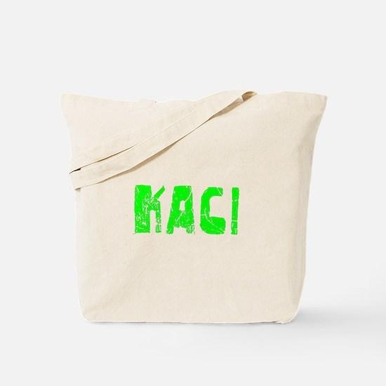 Kaci Faded (Green) Tote Bag