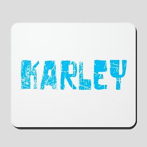 Karley Faded (Blue) Mousepad