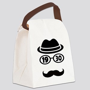 Born In 1930 Canvas Lunch Bag
