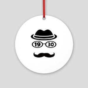Born In 1930 Round Ornament