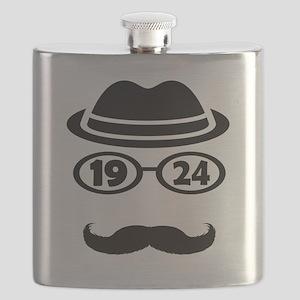 Born In 1924 Flask