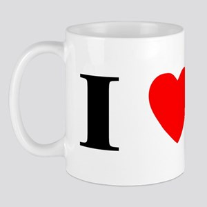 I Heart Shetland Sheepdog Mug