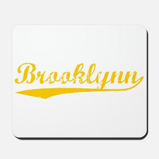 Vintage Brooklynn (Orange) Mousepad
