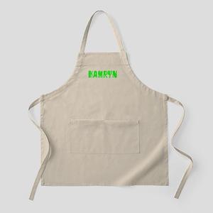 Kamryn Faded (Green) BBQ Apron